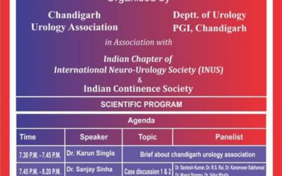 Speaker at the Indian chapter of Neuro-Urology Society & Indian Continence Society July 26th, 2019