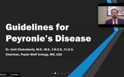 International Convenor and Faculty -Mayocon 2020 International conference on Peyronie's Disease