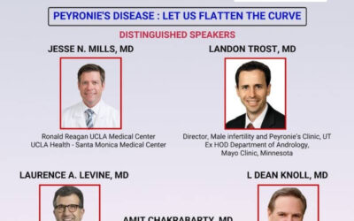 Speaker and Convenor – AAPI CME Program, Peyronie's Disease : LET US FLATTEN THE CURVE – October 31st, 2020