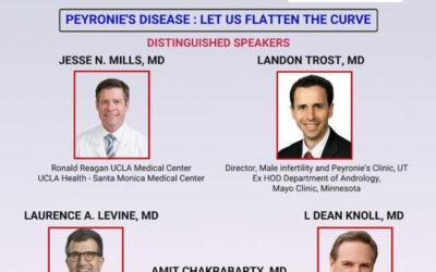 Speaker and Convenor – AAPI CME Program, Peyronie's Disease : LET US FLATTEN THE CURVE – October 31st, 2020
