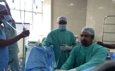 Demonstraing Greenlight XPS Laser Prostatectomy at Urology Society Annual Meeting at Ranchi, India,February 4, 2015