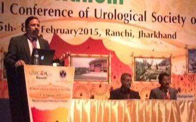 Invited Speaker at the Annual Conference of the Urology Society of India, February 5th – 8th, 2015